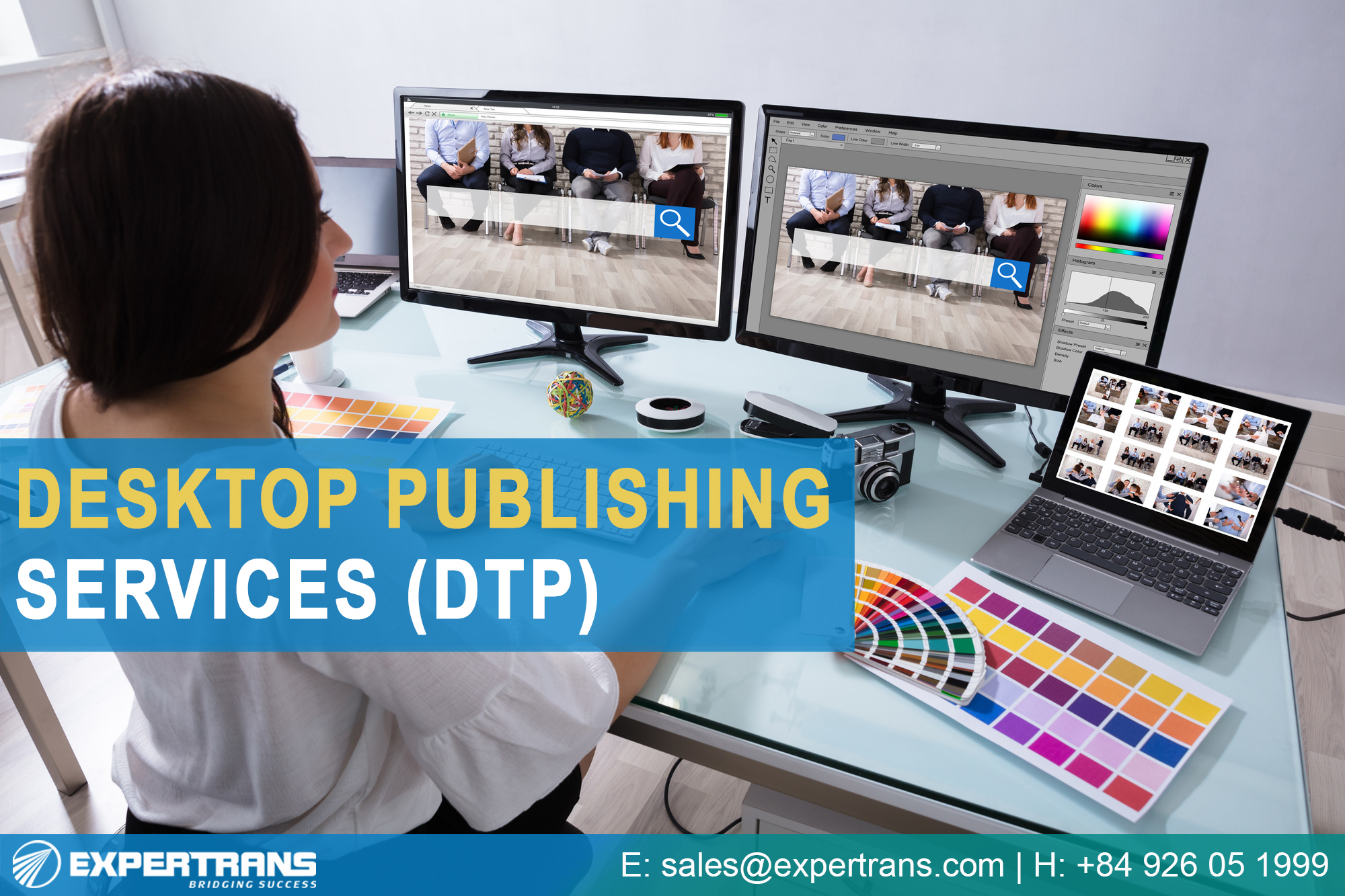 Desktop Publishing Service (DTP)